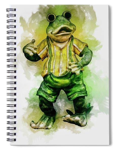 Frog Art Spiral Notebook