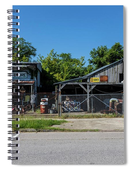 Frog Hollow General Store - Augusta Ga Spiral Notebook