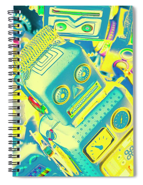 From A Mechanised Design Spiral Notebook