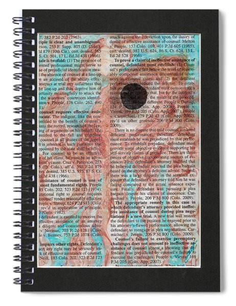 From Below  Spiral Notebook
