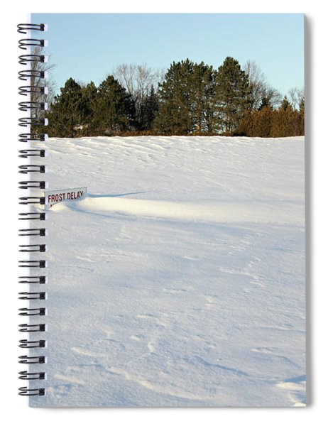 Frost Delay Spiral Notebook