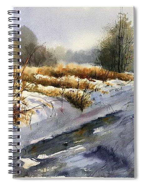 Frozen Brook Spiral Notebook