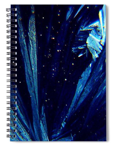 Frozen Night Spiral Notebook