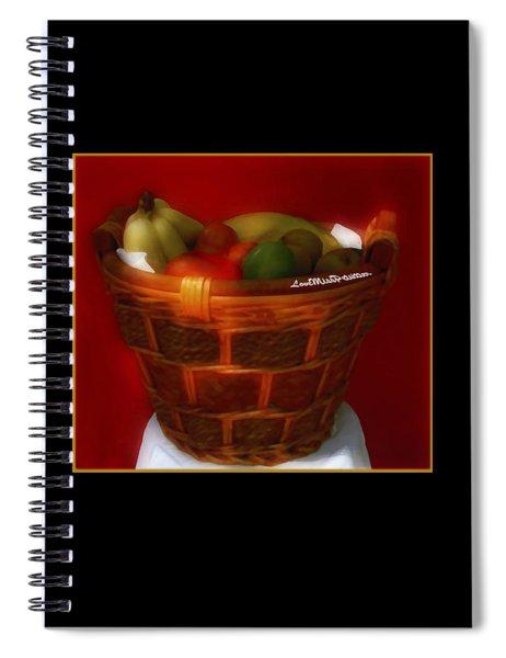 Fruit  Art 36 Spiral Notebook