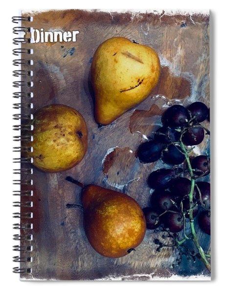Fruit Plate Spiral Notebook