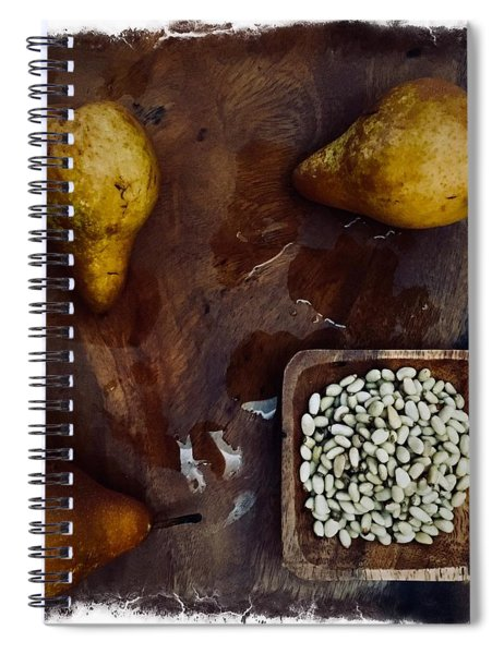 Fruits And Nuts Spiral Notebook