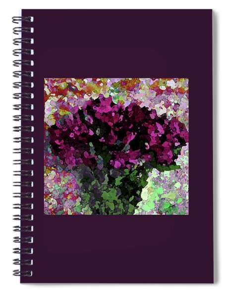 Fuchsia Bouquet 1001 Spiral Notebook