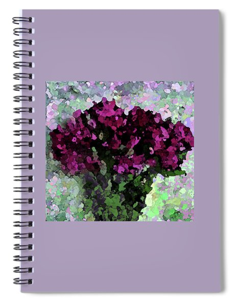 Fuchsia Bouquet Spiral Notebook
