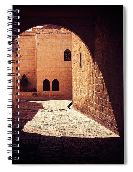 Fugitive Spiral Notebook