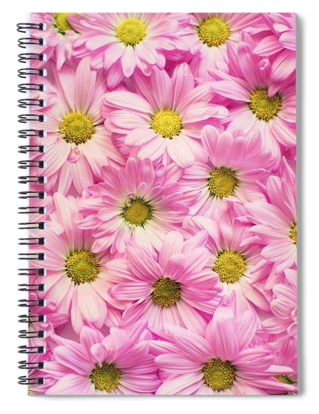 Full Of Pink Flowers Spiral Notebook