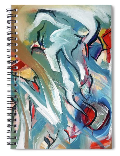 Fury Of The Wind Spiral Notebook