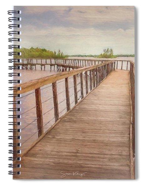 Galena Boardwalk Spiral Notebook