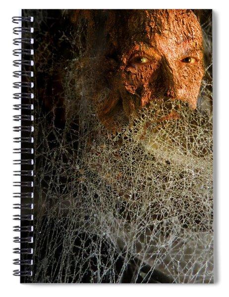 Gandalf - Cobwebby Self-portrait Spiral Notebook