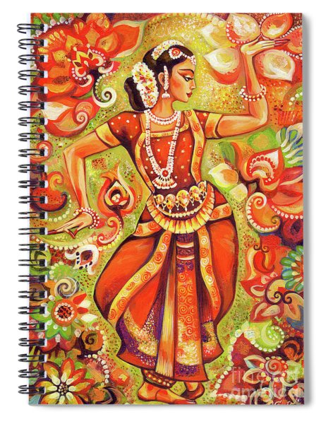Ganges Flower Spiral Notebook