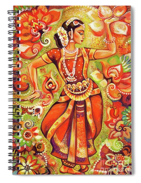Ganges Flower Spiral Notebook