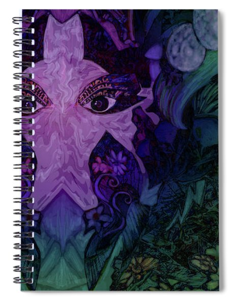 Garden Eyes Spiral Notebook