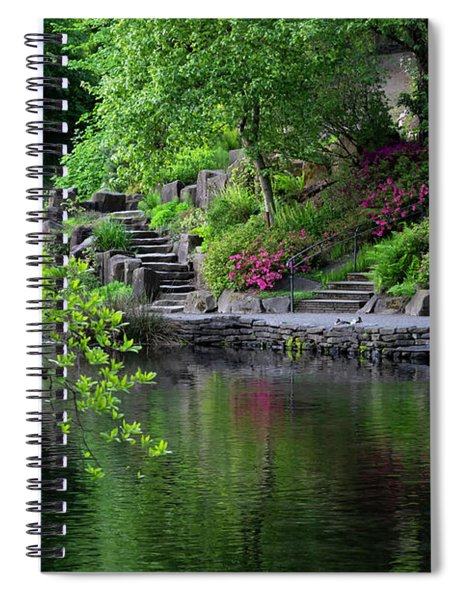Garden Reflections Spiral Notebook