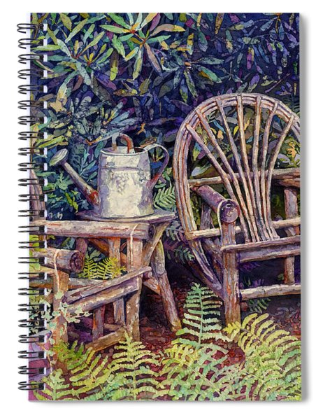 Garden Retreat Spiral Notebook