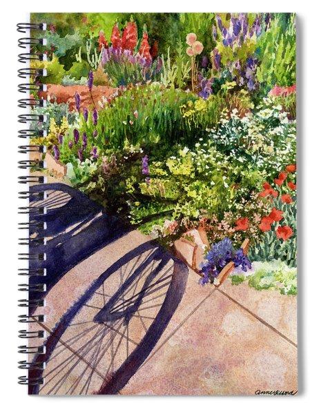 Garden Shadows II Spiral Notebook