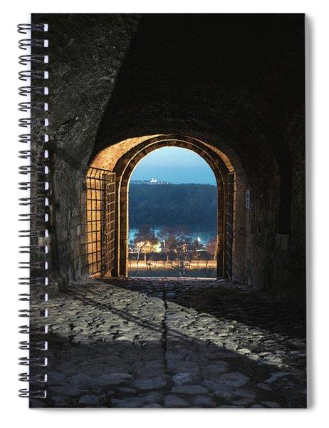 Gate At Kalemegdan Fortress, Belgrade Spiral Notebook