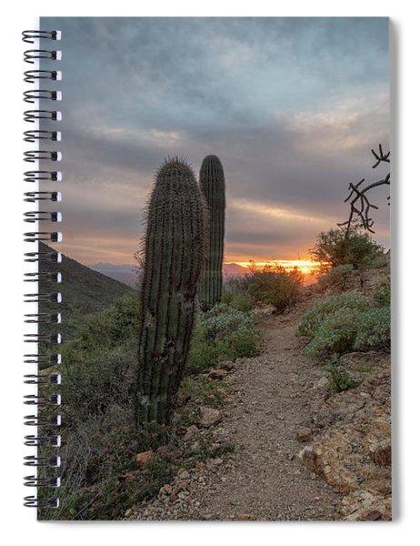 Gates Pass Sunset Trail Spiral Notebook