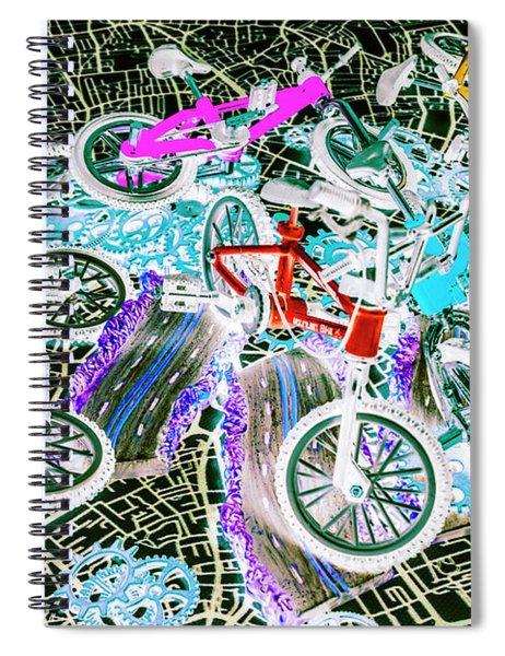 Gearing Up Spiral Notebook