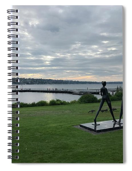 Gene Colon Memorial Beach Park Spiral Notebook