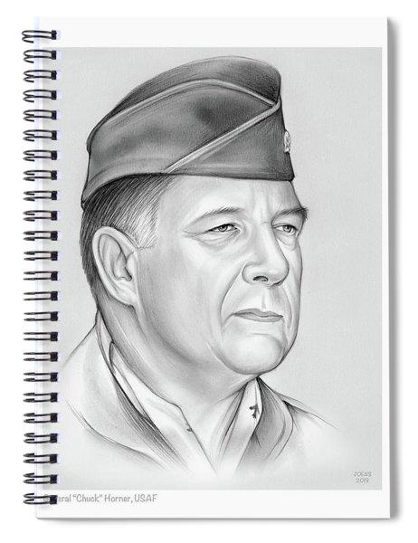 General Chuck Horner Spiral Notebook
