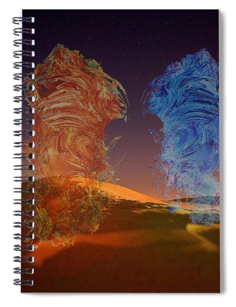 Genies Dance Spiral Notebook