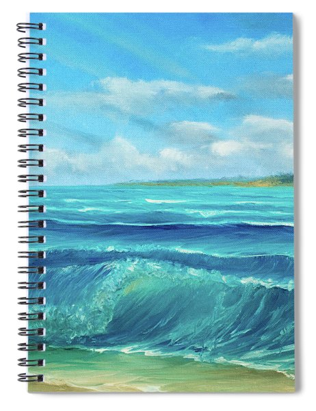 Gentle Breeze Spiral Notebook