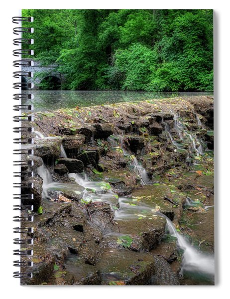 Gentle Flow Spiral Notebook