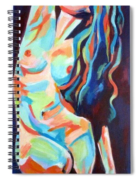Gentle Nude Spiral Notebook