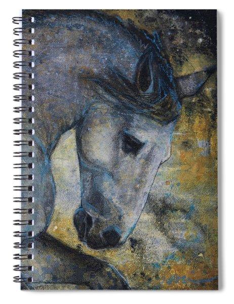 Gentle Spirit Spiral Notebook by Jani Freimann