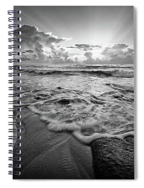 Gentle Surf Spiral Notebook