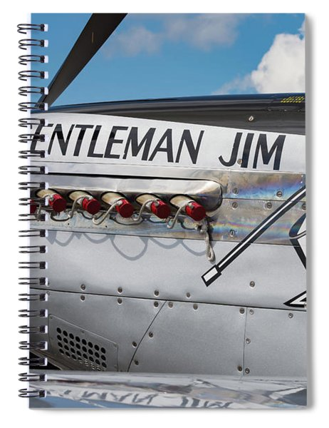 Gentleman Jim On The Ramp Spiral Notebook