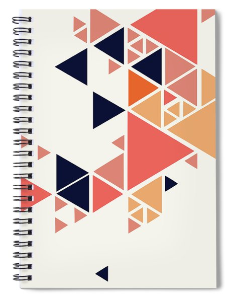Geometric Painting 1 Spiral Notebook