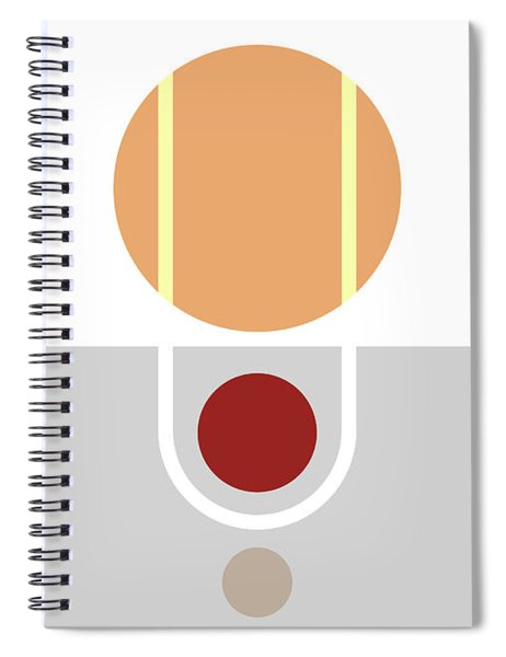 Geometric Painting 11 Spiral Notebook