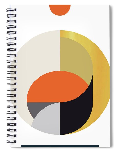Geometric Painting 12 Spiral Notebook