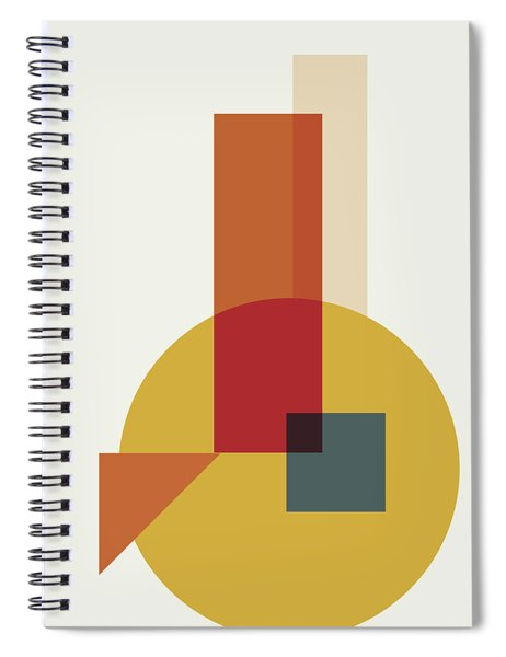 Geometric Painting 13 Spiral Notebook