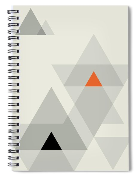 Geometric Painting 15 Spiral Notebook