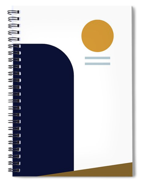 Geometric Painting 2 Spiral Notebook