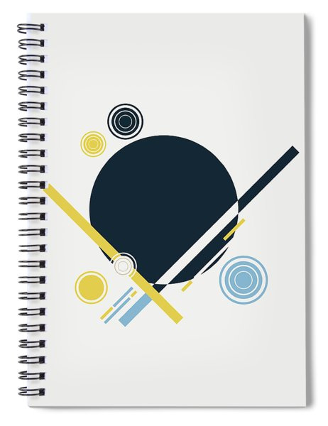 Geometric Painting 3 Spiral Notebook