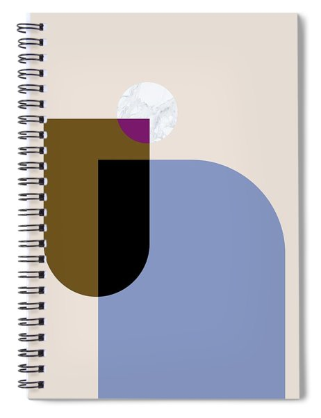 Geometric Painting 4 Spiral Notebook
