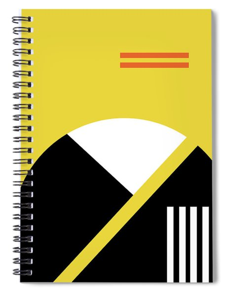 Geometric Painting 5 Spiral Notebook