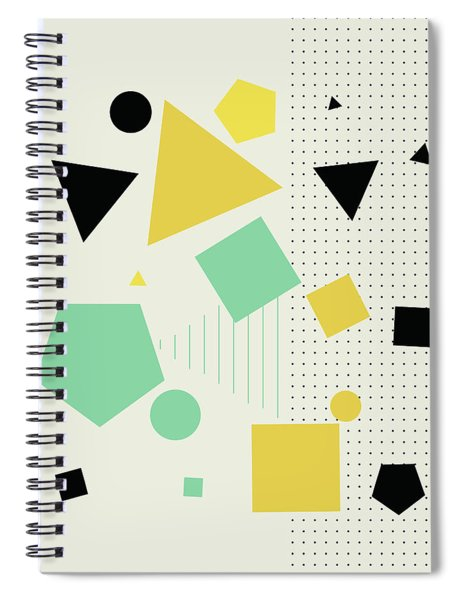 Geometric Painting 7  Spiral Notebook