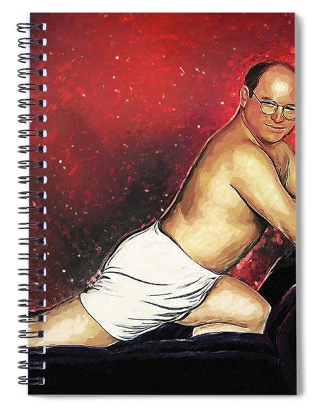George Costanza Spiral Notebook