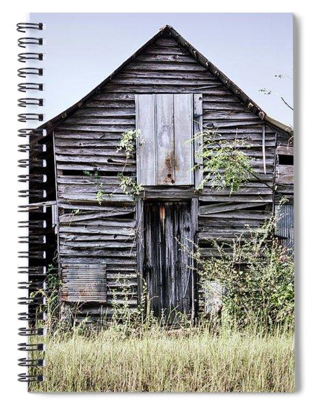 Georgia Barn Spiral Notebook