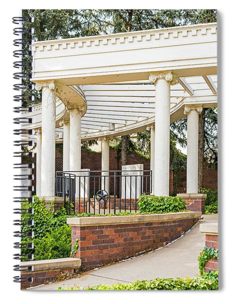 Gerald R. Ford Birthplace Omaha, Ne. Spiral Notebook by Edward Peterson