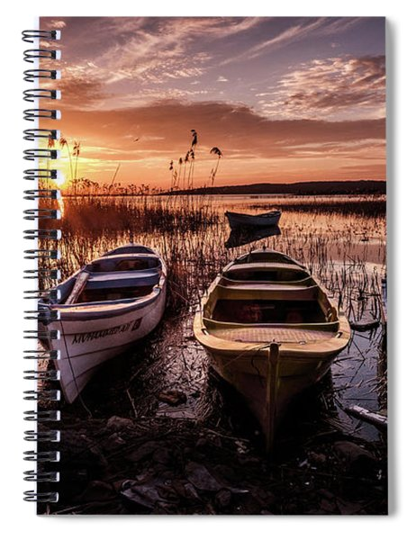 Get In Line Spiral Notebook