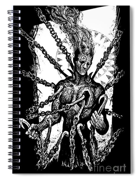 Get Your Hooks Out Spiral Notebook